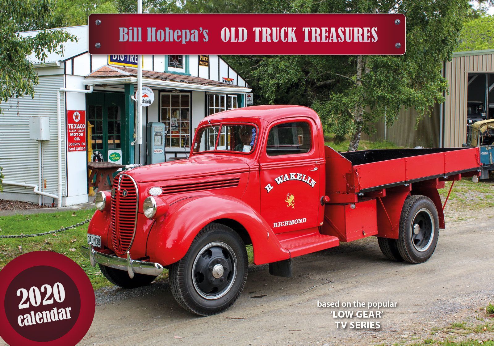 Bill Hohepa's Old Truck Treasures 2019