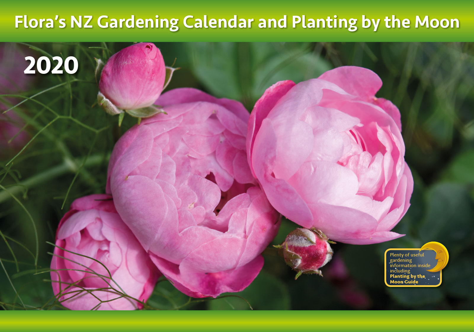 Flora's Gardening Calendar and Planting by the Moon 2018