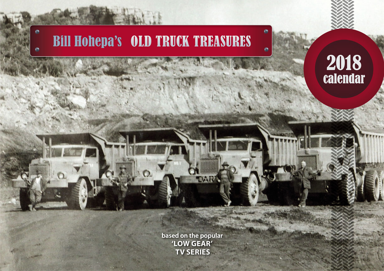Bill Hohepa's Old Truck Treasures 2018